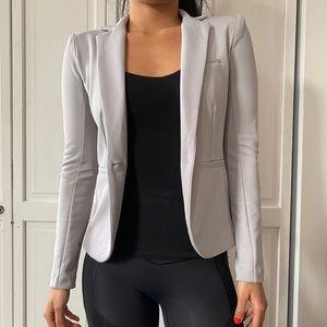 Armani exchange blazer in gray